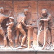Frieze, Worshipful Company of Cutlers, detail 4